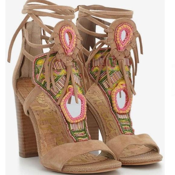 96af2c6a9 Sam Edelman Yvette Block Heel Sandals